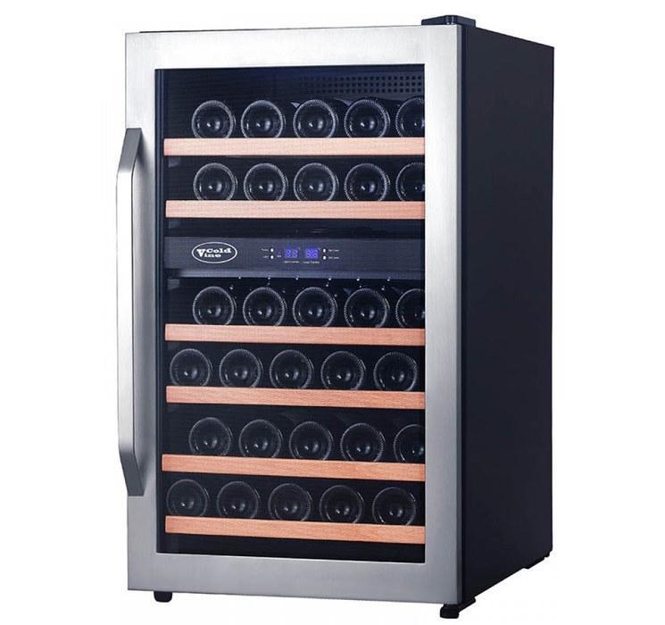 Отдельностоящий винный шкаф 22-50 бутылок Cold Vine C34-KSF2