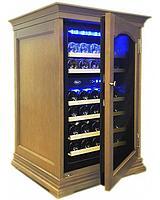 Отдельностоящий винный шкаф 22-50 бутылок Cold Vine C34-KBF2 (W-oak)