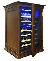 Отдельностоящий винный шкаф 22-50 бутылок Cold Vine C34-KBF2 (W-nut)