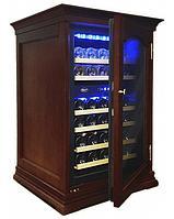Отдельностоящий винный шкаф 22-50 бутылок Cold Vine C34-KBF2 (W-wenge)