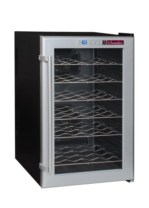 Отдельностоящий винный шкаф 22-50 бутылок LaSommeliere LSC28