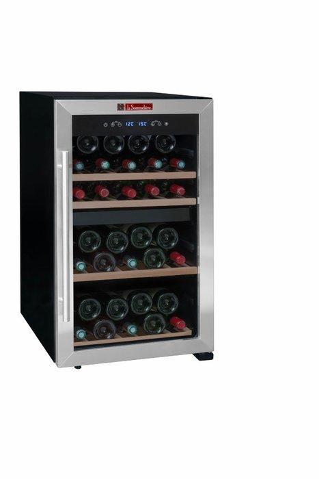 Отдельностоящий винный шкаф 22-50 бутылок LaSommeliere LS50.2Z