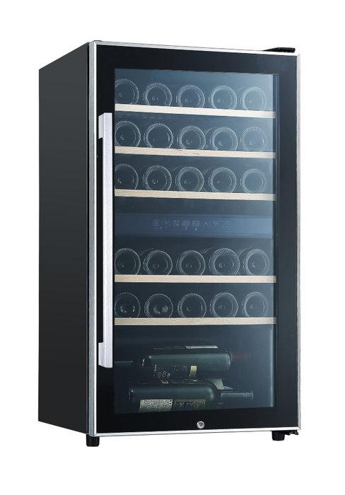 Отдельностоящий винный шкаф 22-50 бутылок LaSommeliere ECS30.2Z
