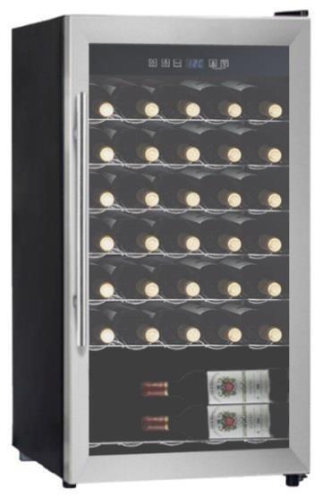 Отдельностоящий винный шкаф 22-50 бутылок LaSommeliere LS34A