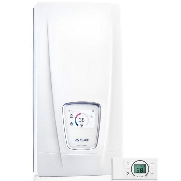 Электрический проточный водонагреватель 24 кВт Clage DSX Touch NEW