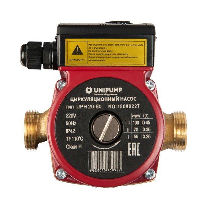 Насос для отопления Unipump UPН 20-60 130