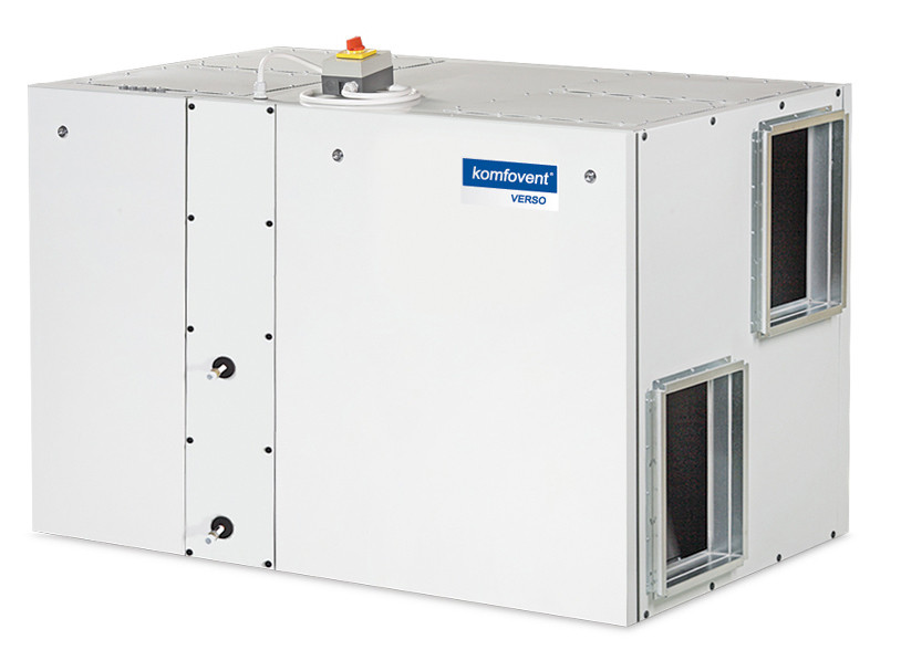 Приточно-вытяжная вентиляционная установка Komfovent Verso-R-2000-V-W (L/A)