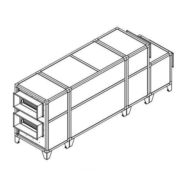 Приточно-вытяжная вентиляционная установка Breezart 2700 Lux RP PB 15-380