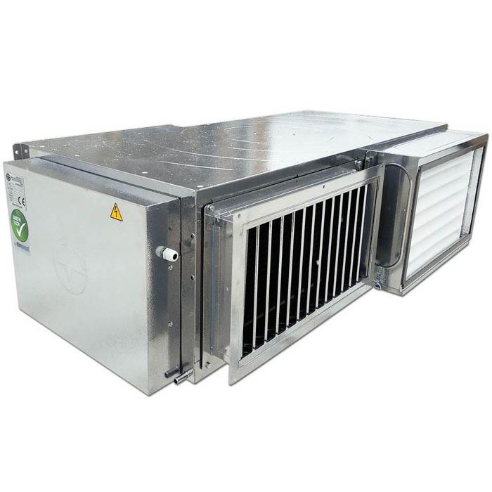 Приточно-вытяжная вентиляционная установка Globalvent CLIMATE-PACKAGE 042 E Модель L / R