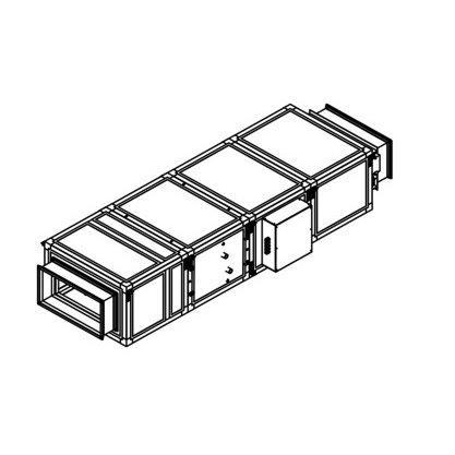 Приточная вентиляционная установка Breezart 2700 Lux W15 - 380/3
