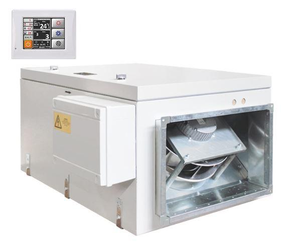 Приточная вентиляционная установка Благовест ФЬОРДИ ВПУ 2500/24-380/3-GTC