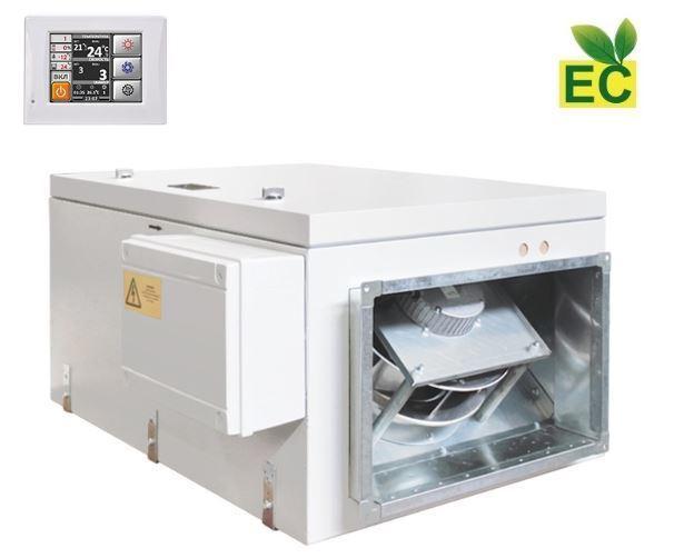 Приточная вентиляционная установка Благовест ФЬОРДИ ВПУ 3000 ЕС/36-380/3-GTC