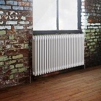 Стальной трубчатый радиатор 3-колончатый Arbonia 3075/40 N12 3/4 RAL 9016