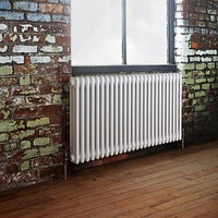 Стальной трубчатый радиатор 3-колончатый Arbonia 3026/24 N12 3/4 RAL 9016