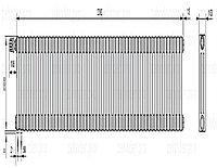 Стальной трубчатый радиатор 3-колончатый Zehnder Charleston 3057/52 TL
