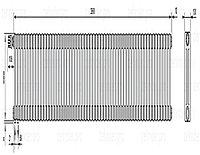 Стальной трубчатый радиатор 3-колончатый Zehnder Charleston 3057/58 TL