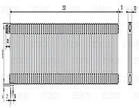 Стальной трубчатый радиатор 3-колончатый Zehnder Charleston 3057/55 TL