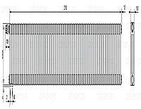 Стальной трубчатый радиатор 3-колончатый Zehnder Charleston 3057/60 TL