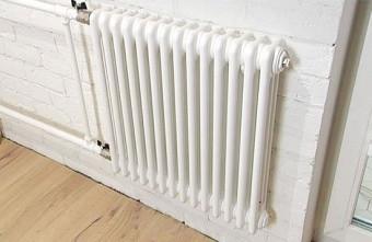 Стальной трубчатый радиатор 3-колончатый Arbonia 3057/14 N12 3/4 RAL 9016