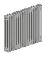 Стальной трубчатый радиатор 3-колончатый IRSAP TESI 30565/10 T30 cod.03 (Manhattan Grey)