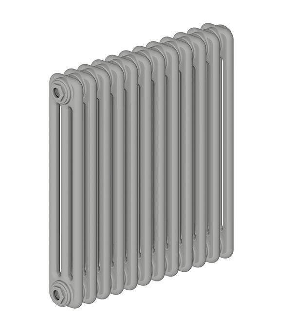 Стальной трубчатый радиатор 3-колончатый IRSAP TESI 30565/12 T30 cod.03 (Manhattan Grey)