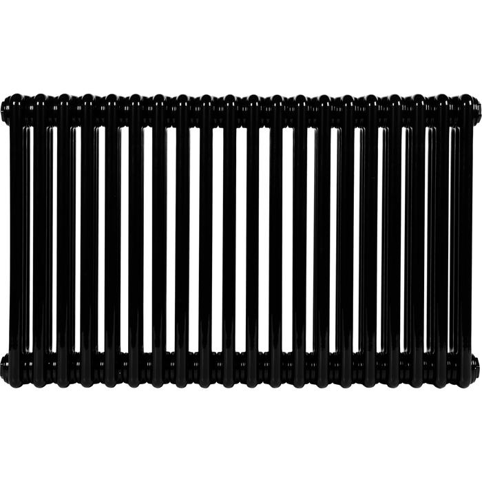 Стальной трубчатый радиатор 3-колончатый IRSAP TESI 30565/20 Т30 cod.10 (RAL9005 черный)