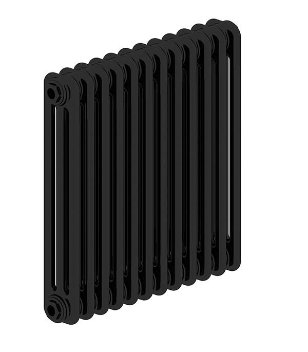 Стальной трубчатый радиатор 3-колончатый IRSAP TESI 30565/12 Т30 cod.10 (RAL9005 черный)