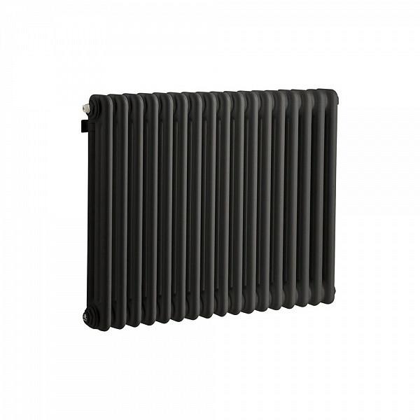 Стальной трубчатый радиатор 3-колончатый IRSAP TESI 30565/16 Т30 cod.10 (RAL9005 черный)