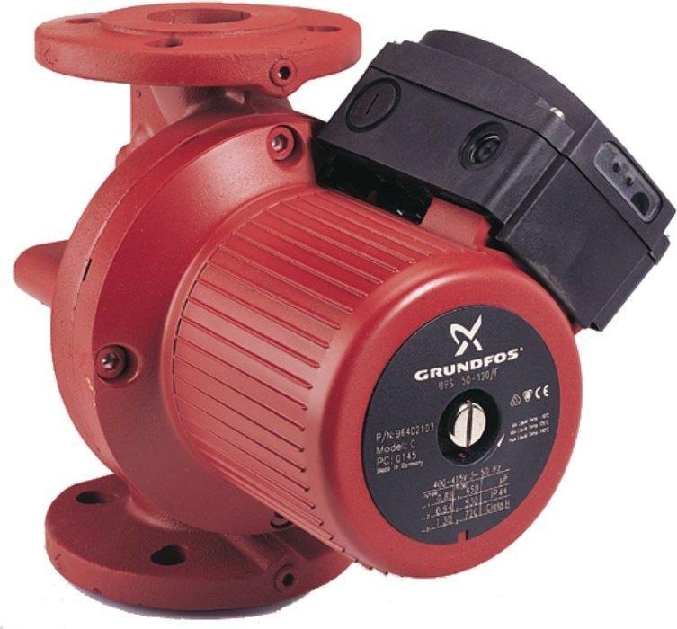 Насос для отопления Grundfos UPS40-180 F 3x400-415V PN6/10