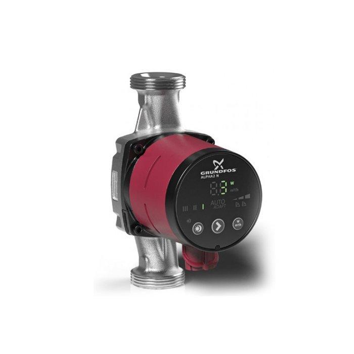 Насос для отопления Grundfos ALPHA2 25-60 A 180 1x230V 50Hz 6H
