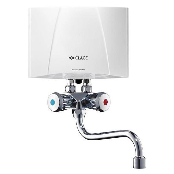 Электрический проточный водонагреватель 5 кВт Clage M4 / SMB