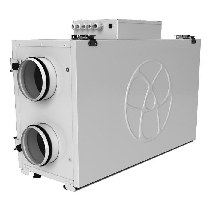 Приточно-вытяжная вентиляционная установка 500 Blauberg KOMFORT Ultra EC L2 350-E S14 white