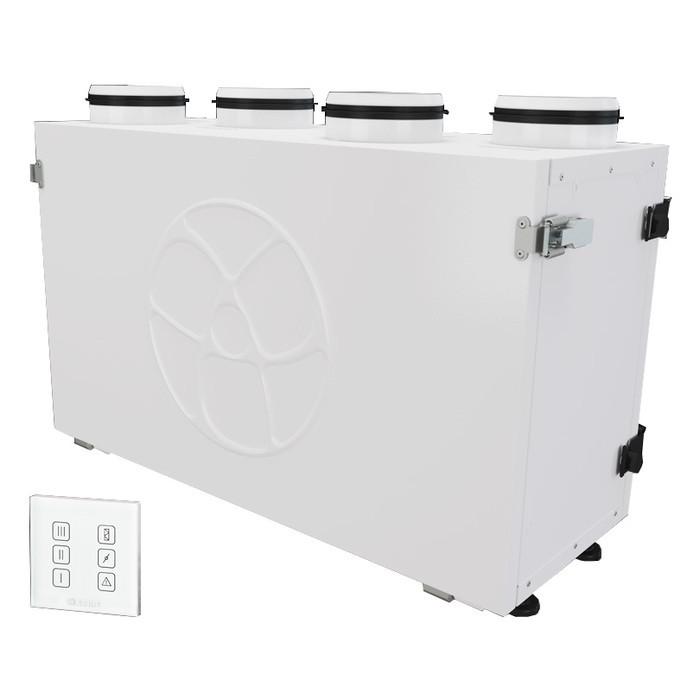 Приточно-вытяжная вентиляционная установка 500 Blauberg KOMFORT Ultra EC S300-E S14 white