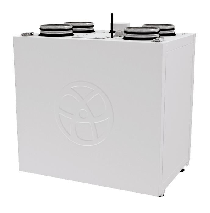 Приточно-вытяжная вентиляционная установка 500 Blauberg KOMFORT Roto EC SE 600 S21