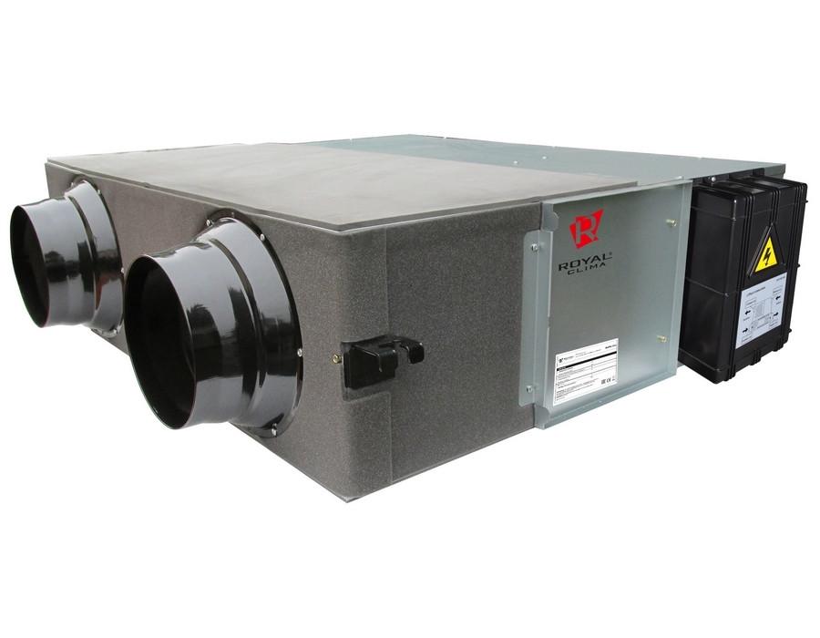 Приточно-вытяжная вентиляционная установка 500 Royal Clima RCS-350-U