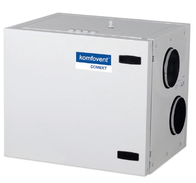 Приточно-вытяжная вентиляционная установка 500 Komfovent Domekt-R-400-H (L/A M5/M5 ePM10 50/ePM10 50)