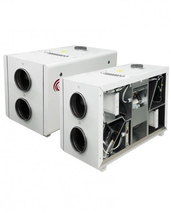 Приточно-вытяжная вентиляционная установка 500 Salda RIRS 400 HW EKO 3.0
