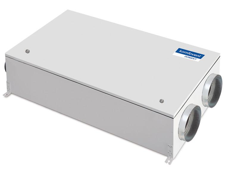 Приточно-вытяжная вентиляционная установка 500 Komfovent Domekt-CF-250-F (F7/M5 ePM1 55/ePM10 50) К