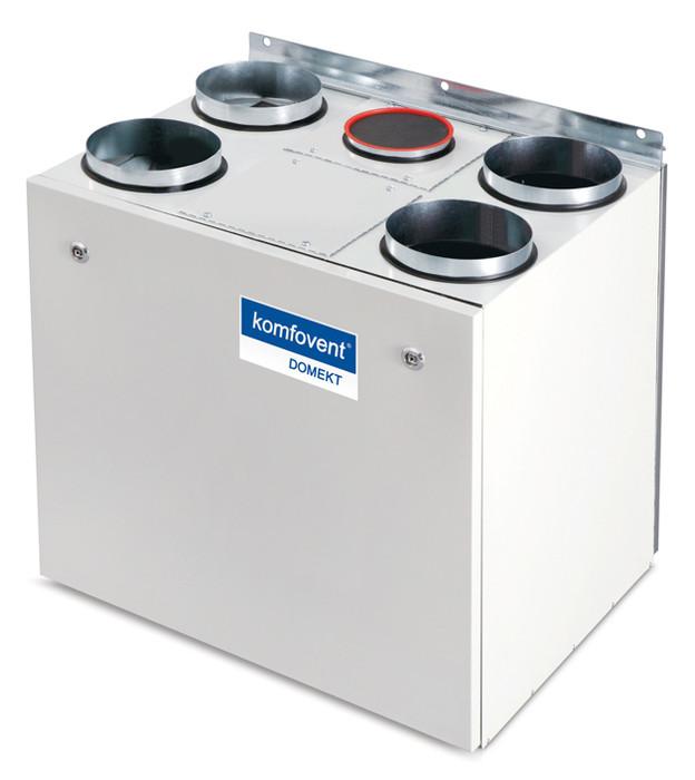 Приточно-вытяжная вентиляционная установка 500 Komfovent Domekt-R-400-V (L/AZ M5/M5 ePM10 50/ePM10 50)
