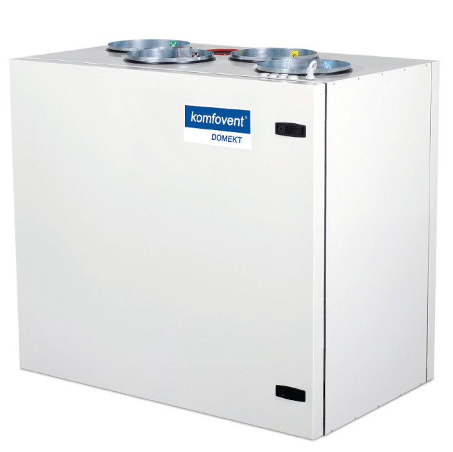 Приточно-вытяжная вентиляционная установка 500 Komfovent Domekt-R-500-V (L/AZ M5/M5 ePM10 50/ePM10 50)