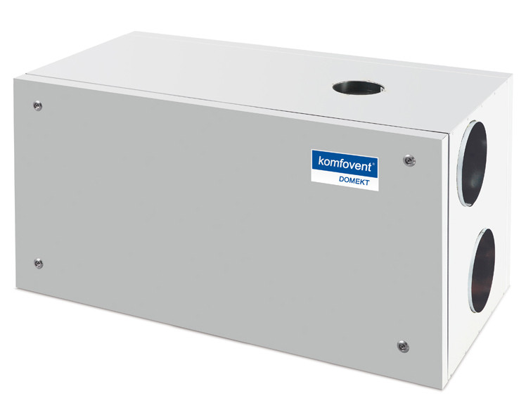 Приточно-вытяжная вентиляционная установка 500 Komfovent Domekt-R-600-H (L/A M5/M5 ePM10 50/ePM10 50)