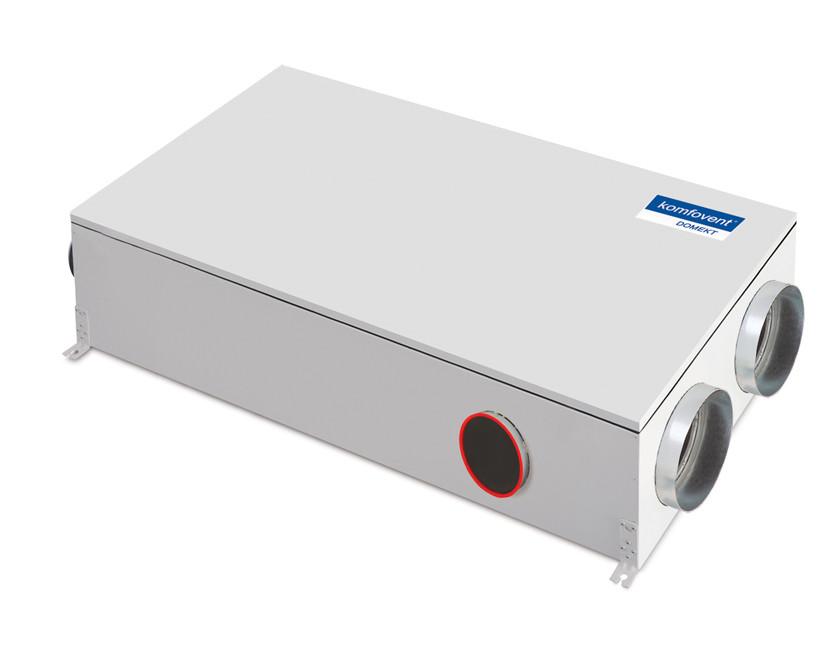 Приточно-вытяжная вентиляционная установка 500 Komfovent Domekt-R-600-H (L/AZ F7/M5 ePM1 55/ePM10 50)
