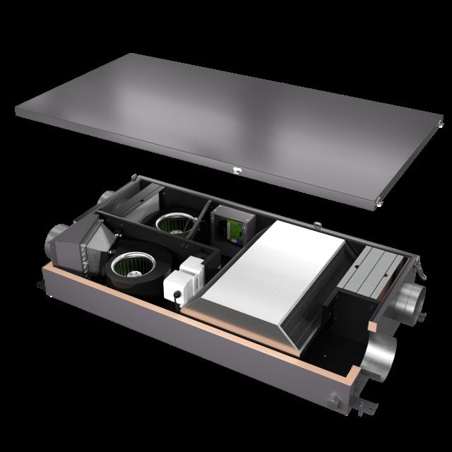 Приточно-вытяжная вентиляционная установка 500 Minibox Save-350 Zentec
