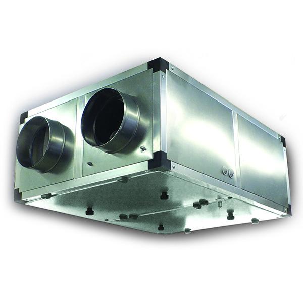 Приточно-вытяжная вентиляционная установка 500 Эльф ЭКО 350 с догревом ЭК