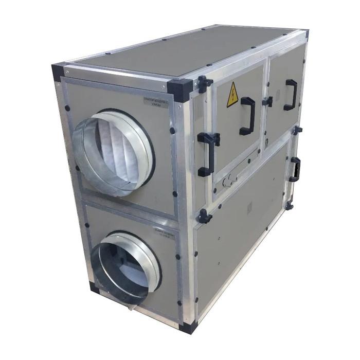 Приточно-вытяжная вентиляционная установка 500 MIRAVENT ПВВУ BRAVO EC – 600 E (с электрическим калорифером)