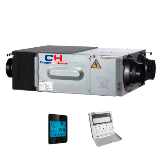 Компактная приточно-вытяжная установка с рекуператором  Cooper&Hunter CH-HRV2K2