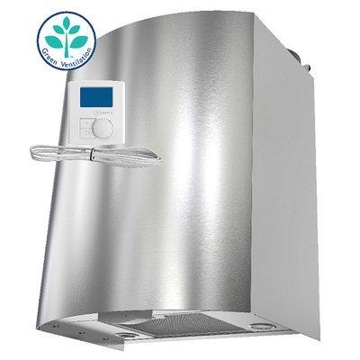 Приточно-вытяжная вентиляционная установка 500 Systemair SAVE VTR 150/K L 500W S.Steel