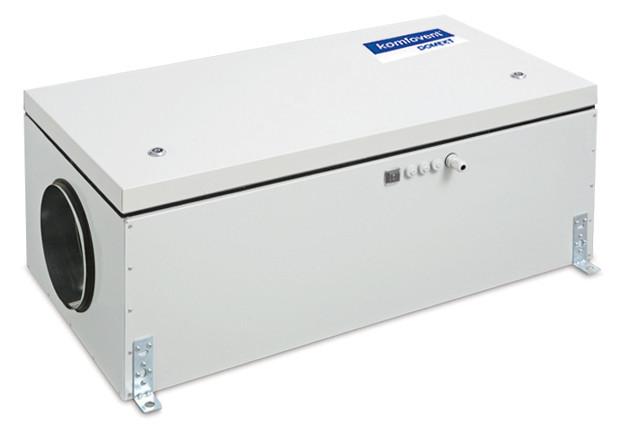 Приточная вентиляционная установка Komfovent Domekt-S-650-F-E/3 (M5 ePM10 50)