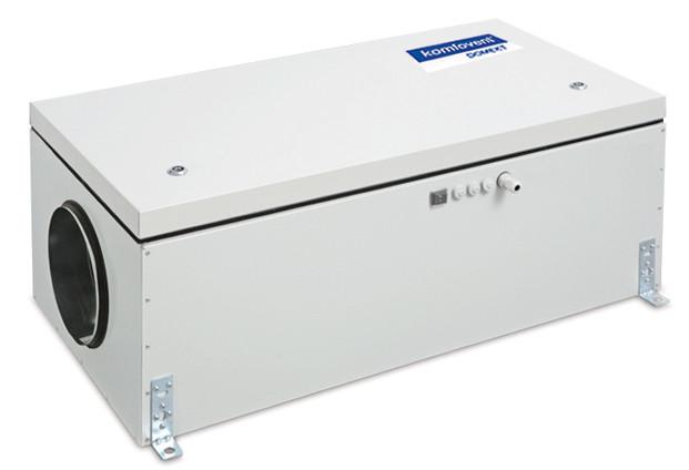 Приточная вентиляционная установка Komfovent Domekt-S-650-F-E/6 (F7 ePM1 55)