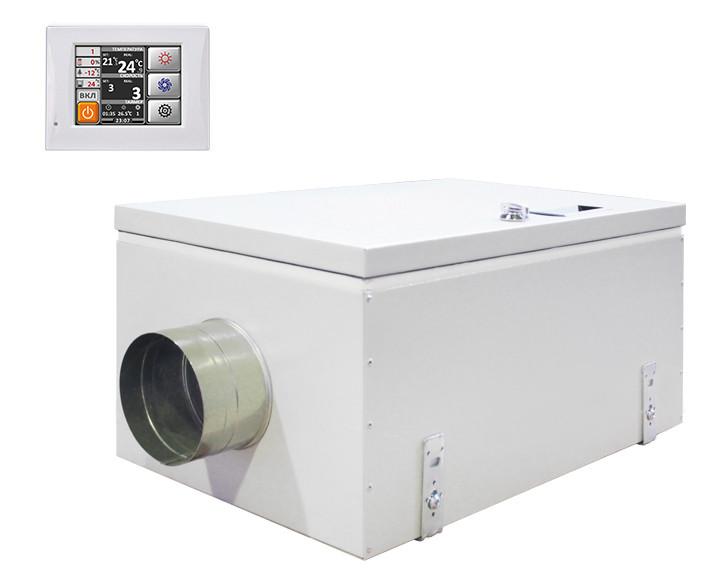 Приточная вентиляционная установка Благовест ФЬОРДИ ВПУ 500/3-220/1-GTC